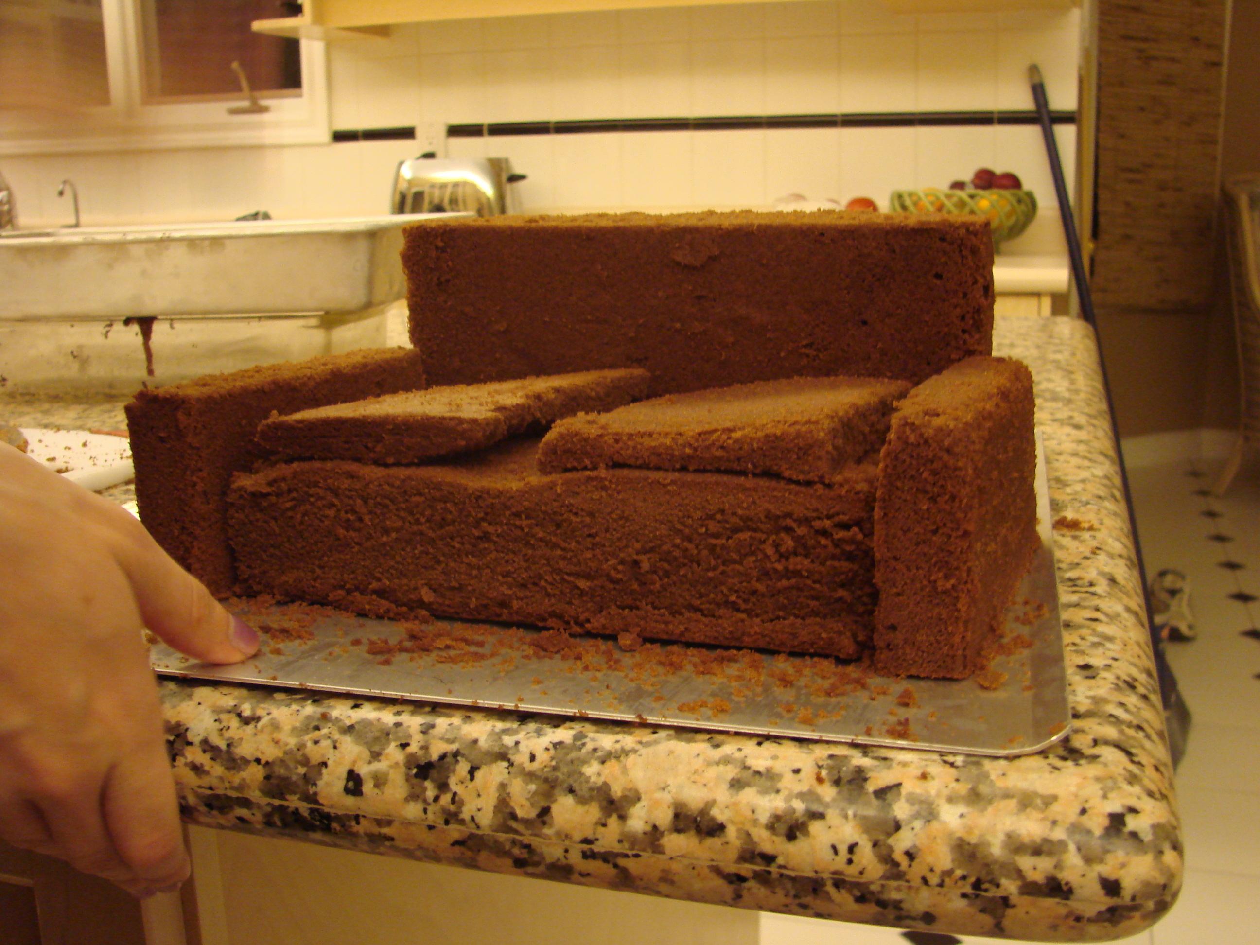 Threadcakes Wrath Of The Sofa Threadless Cake By Natalie