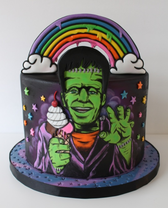 Threadcakes Lisa Frankenstein Threadless Cake By Traci Martin