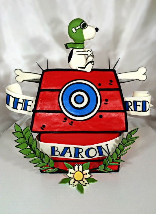 Threadcakes red baron tattoo threadless cake by emiry for Red baron tattoo